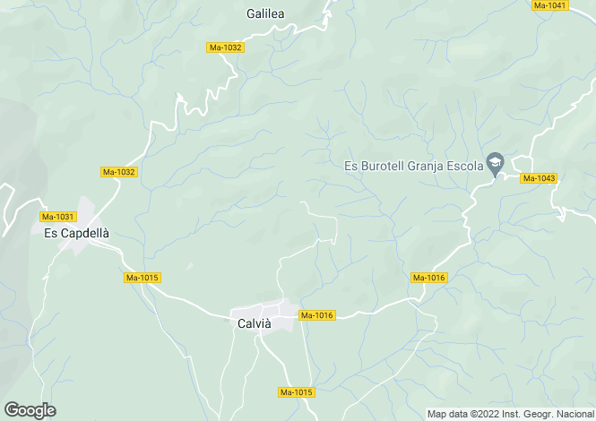 Map for Son Font, Spain
