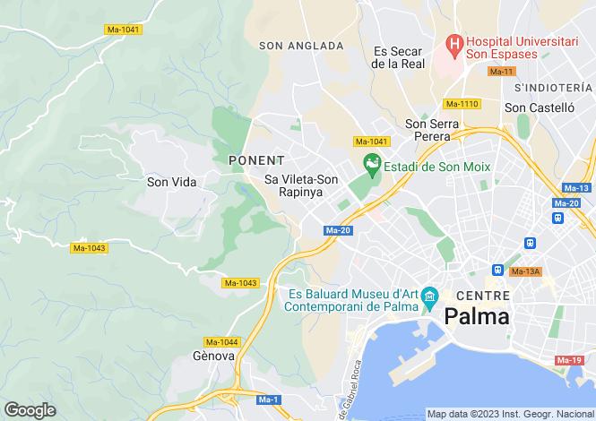 Map for Son Rapinya, Mallorca, Balearic Islands