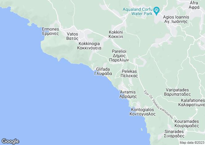 Map for SEASIDE VILLA, Glyfada