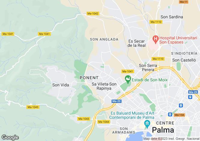 Map for 07011, Palma de Mallorca, Spain