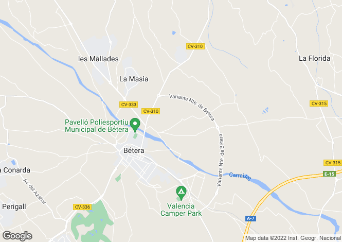 Map for Bétera, 46117, Spain
