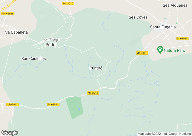 Map for Puntiró, Mallorca, Balearic Islands