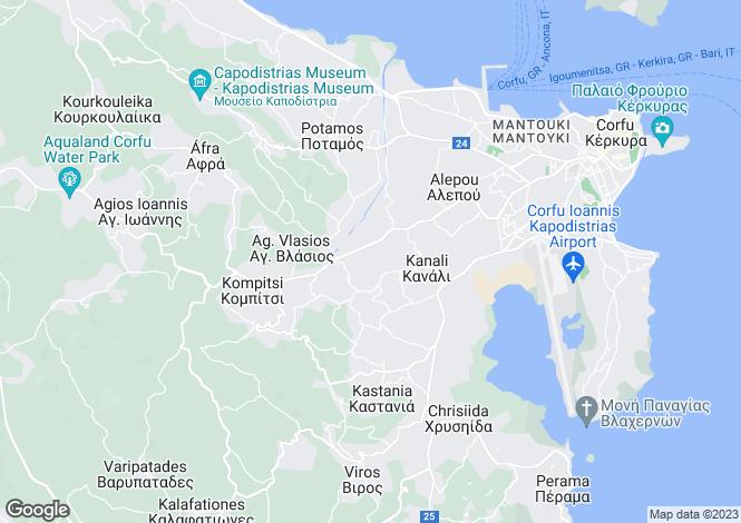 Map for Alepou, Corfu, Ionian Islands