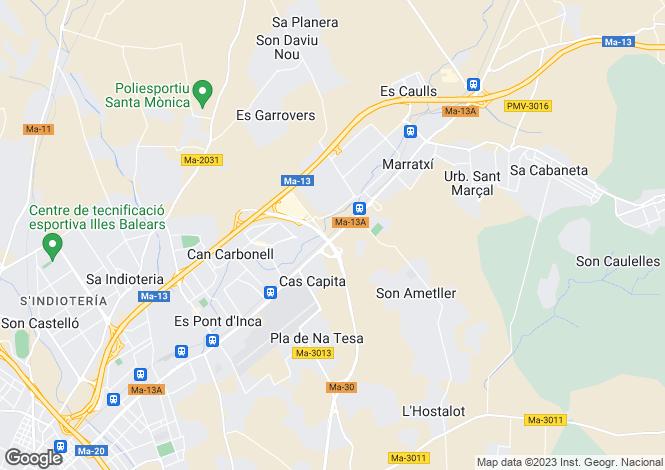 Map for 07141, Palma de Mallorca, Spain
