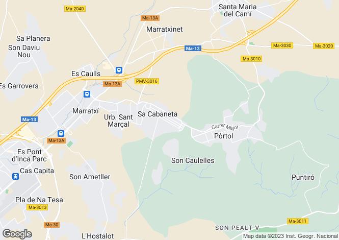 Map for 07141, Sa Cabaneta, Spain
