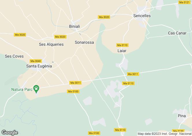 Map for Santa Eugenia, Islas Baleares, 07142, Spain