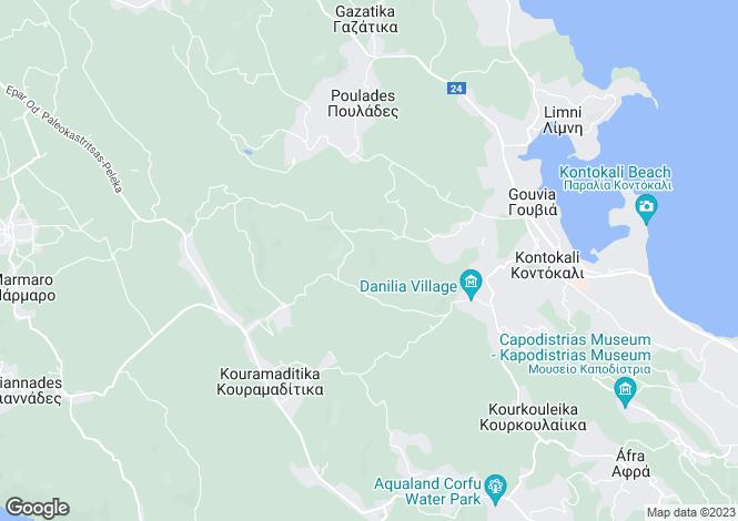 Map for Temploni, Corfu, Ionian Islands