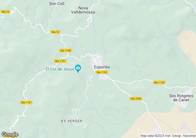 Map for 07190, Esporles, Spain