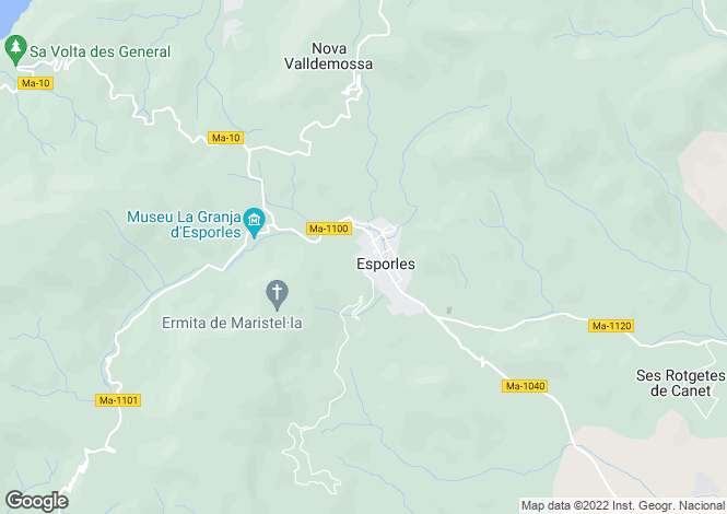 Map for 07190, Esporles, Spain