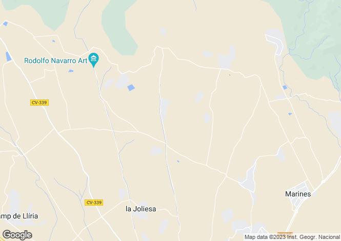 Map for Lliria, Valencia, Valencia