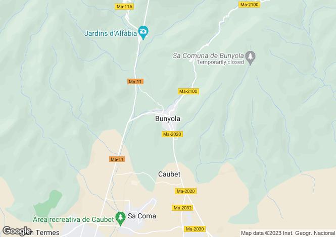 Map for Unique Majorcan Country Estate, Bunyola, Mallorca