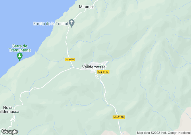 Map for 07170, Valldemossa, Spain
