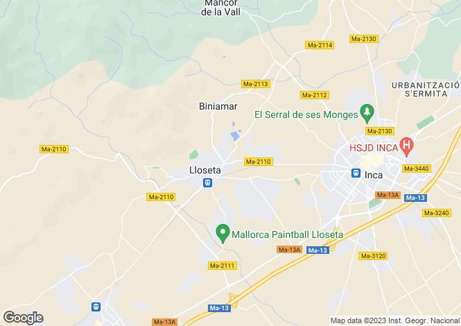 Map for Lloseta, Spain