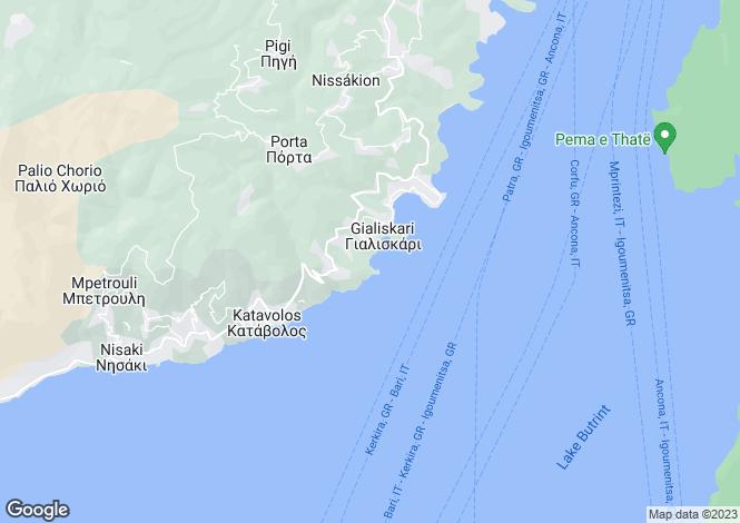 Map for VILLA AMALTHEA, Agni