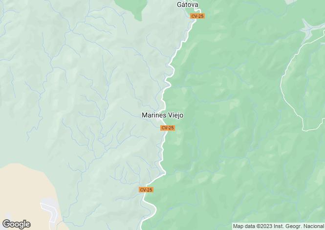 Map for Valencia, Valencia, Marines