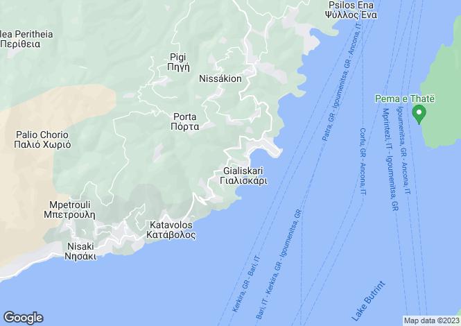 Map for Kalami, Corfu, Ionian Islands