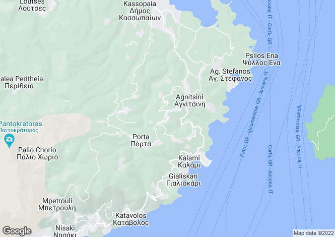 Map for PORTA SEA VIEW, Kokkini (NE)