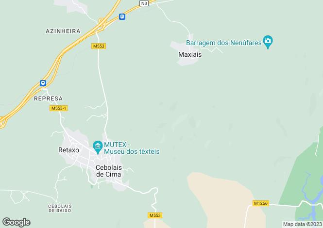 Map for Cebolais de Cima, Beira Baixa