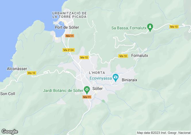 Map for 07100, Sóller, Spain