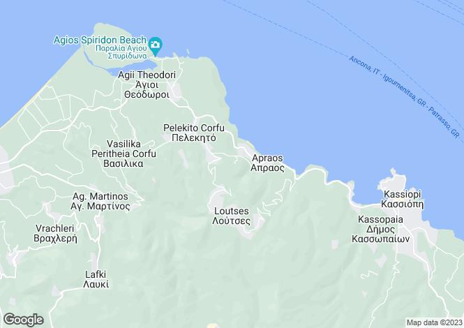 Map for SANDY LAND, Astrakeri