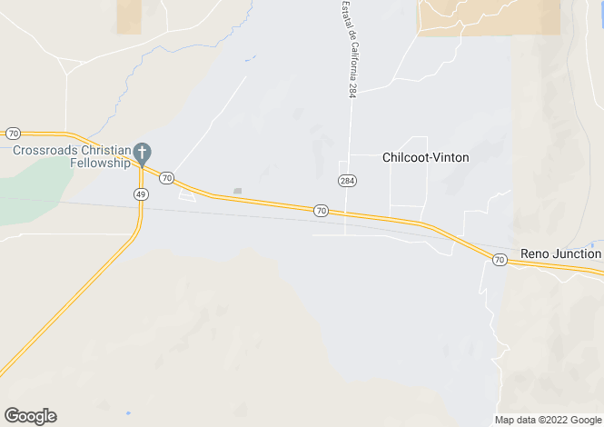 Map for California, Plumas County, Chilcoot