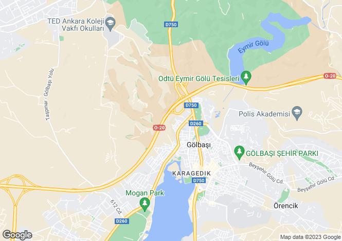 Map for Gölbasi, Ankara