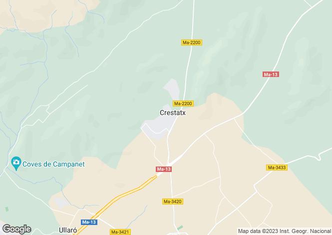 Map for Enchanting 4 bedroom Villa, near Pollensa, North Mallorca