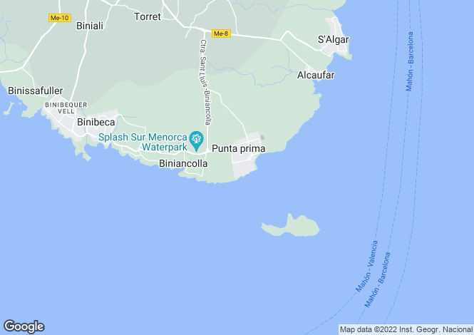 Map for Punta Prima,Balearic Islands
