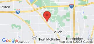 Map of ZIP Code 45415