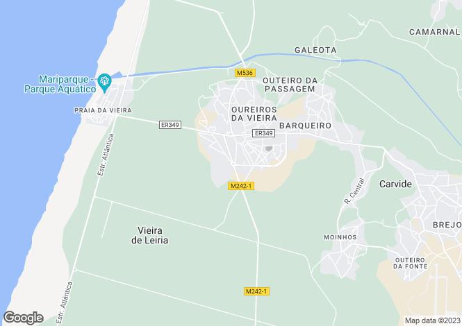 Map for Leiria, Leiria