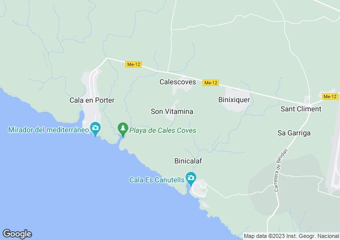 Map for Son Vitamina, Menorca, Balearic Islands