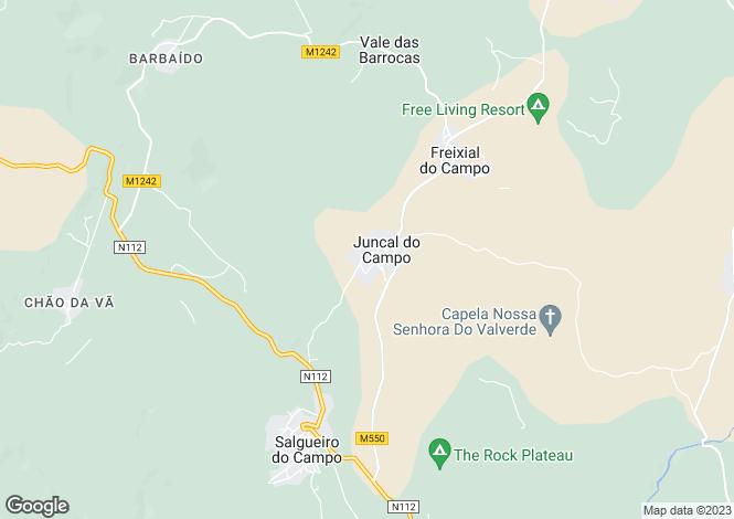 Map for Juncal Do Campo, Beira Baixa