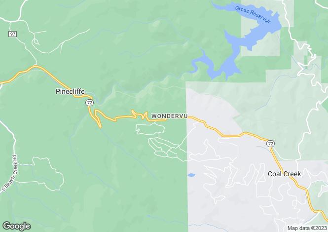Map for USA - Montana, Jefferson County, Boulder