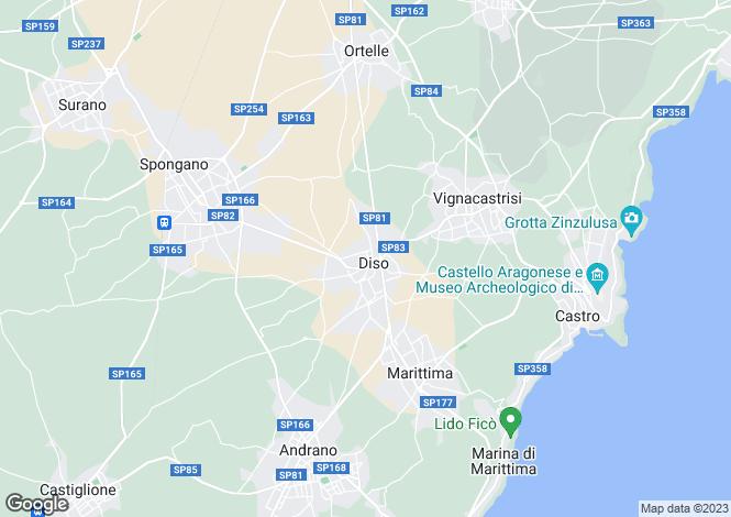 Map for Via Cesare Battisti, Diso, Apulia