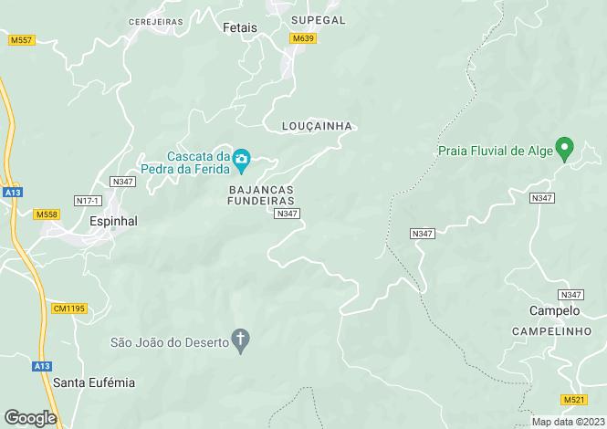 Map for Penela, Beira Litoral