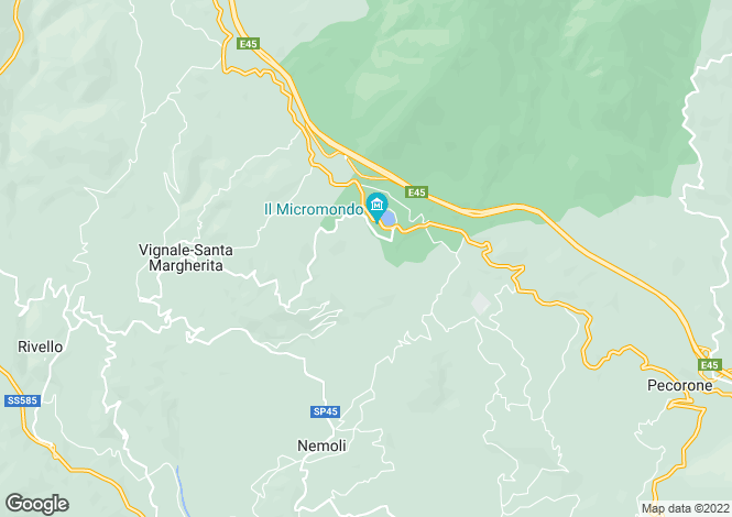 Map for Basilicata, Potenza, Rivello