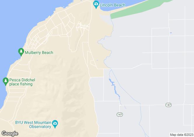 Map for Utah, Utah County, Spanish Fork