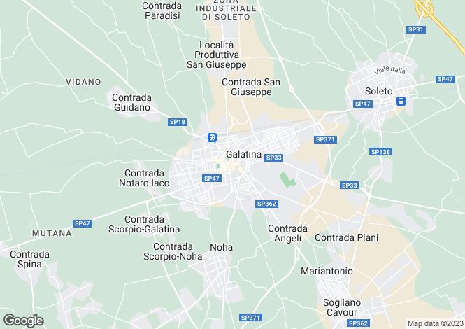 Map for Corso Garibaldi, Galatina, Apulia