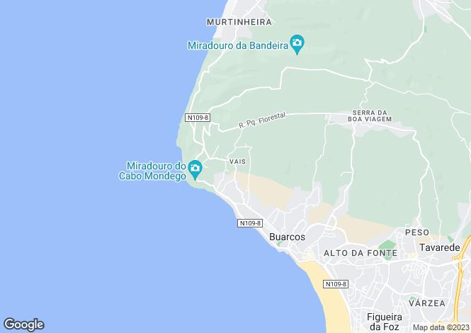 Map for Beira Litoral, Figueira da Foz