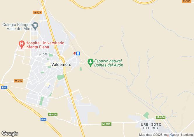 Map for Valdemoro, Madrid, Madrid
