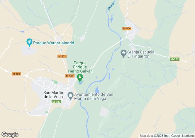 Map for San Martín de la Vega, Madrid, Madrid