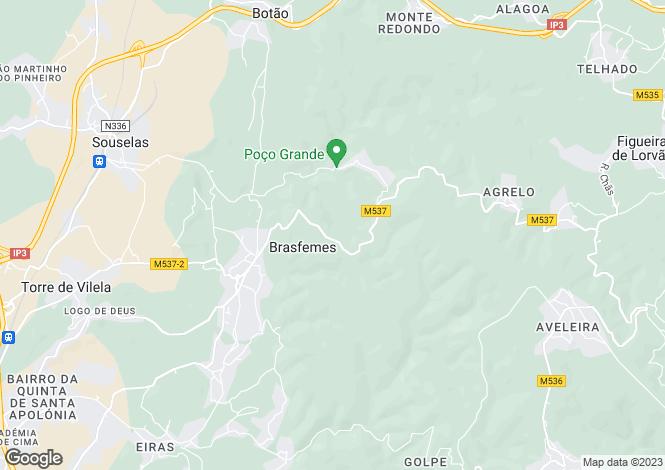 Map for Coimbra, Coimbra, na, Portugal