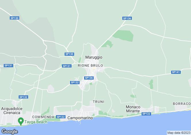 Map for Maruggio, 74020, Italy