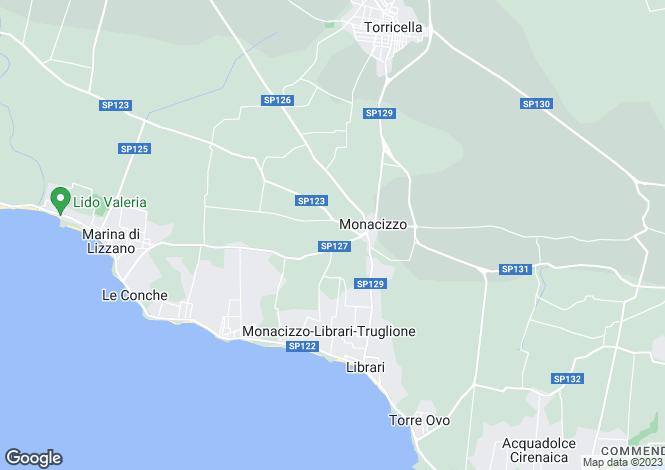 Map for Torricella, Taranto, Apulia