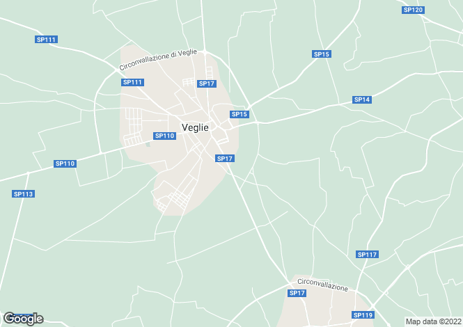 Map for Veglie, 73010, Italy