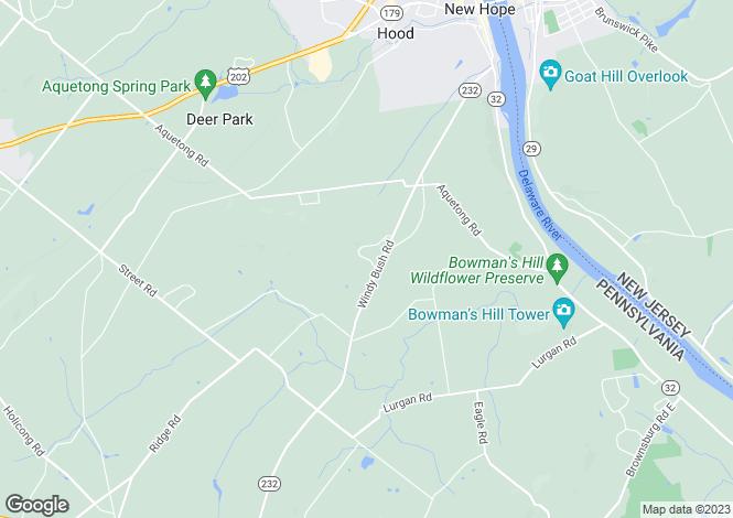 Map for Pennsylvania