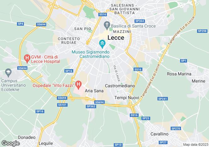 Map for Apulia, Lecce, Lecce