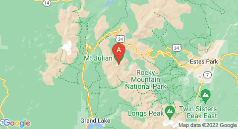 map of Mount Julian (United States of America)