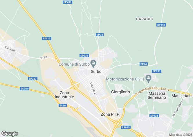 Map for via kennedy, Surbo, Apulia