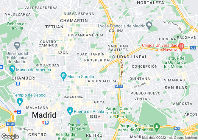 Map for Spain, Madrid, Madrid City, Malasaña, MAD21479